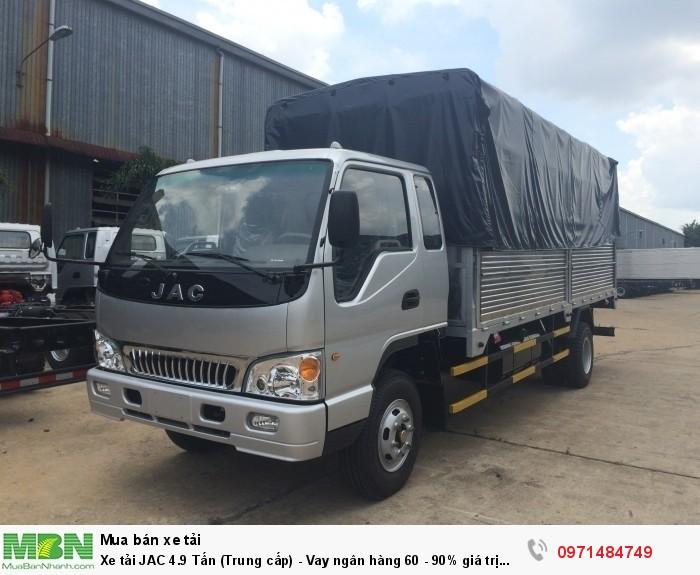 Xe tải JAC 4.9 Tấn  (Trung cấp) - Vay ngân hàng 60 - 90% giá trị xe 1