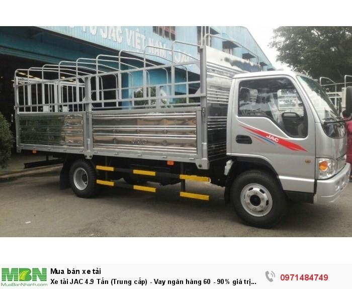 Xe tải JAC 4.9 Tấn  (Trung cấp) - Vay ngân hàng 60 - 90% giá trị xe 2