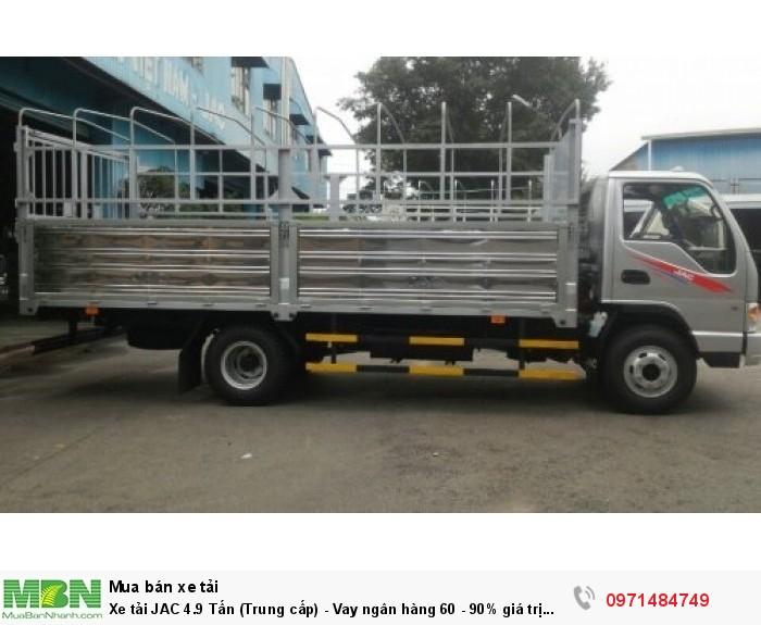 Xe tải JAC 4.9 Tấn  (Trung cấp) - Vay ngân hàng 60 - 90% giá trị xe 5