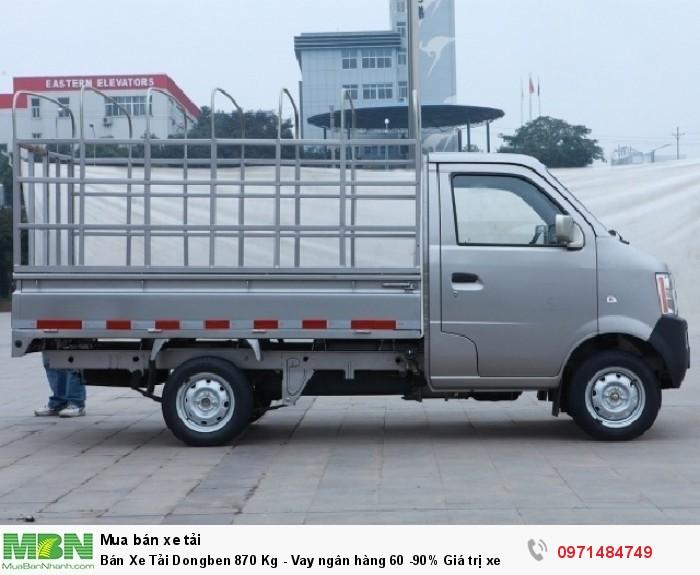 Bán Xe Tải Dongben 870 Kg - Vay ngân hàng 60 -90% Giá trị xe