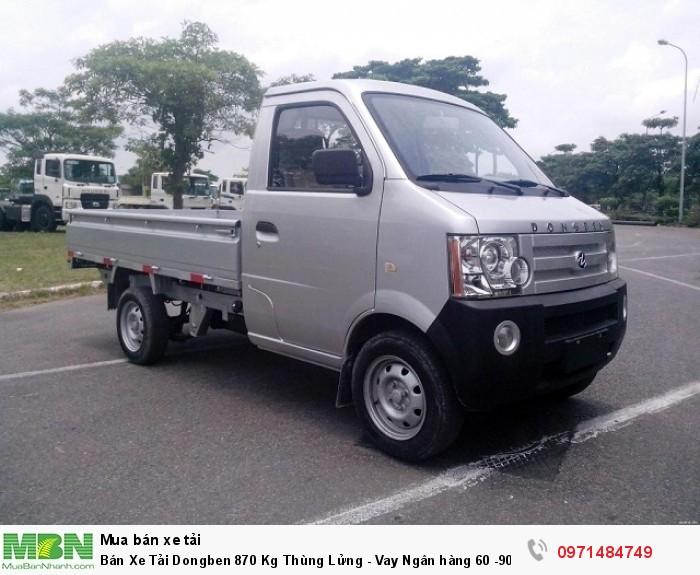 Bán Xe Tải Dongben 870 Kg Thùng Lửng - Vay Ngân hàng 60 -90% giá trị xe