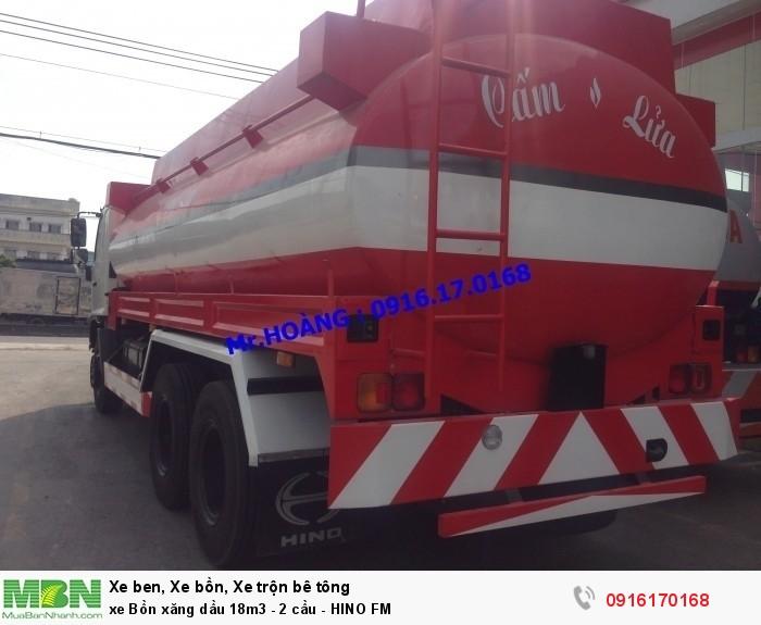 xe Bồn xăng dầu 18m3 - 2 cầu - HINO FM