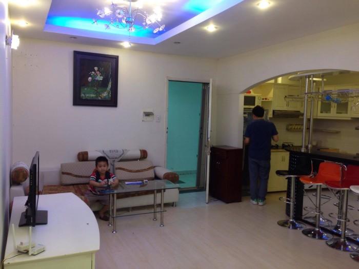 Cần cho thuê căn hộ chung cư Vạn Đô , Quận 4, DT 80 m2,  2 pn, 2 wc