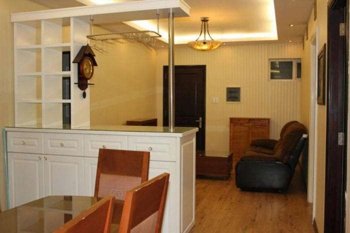 Cần cho thuê căn hộ chung cư Copac , Quận 4, DT 90 m2,  2 pn, 2 wc