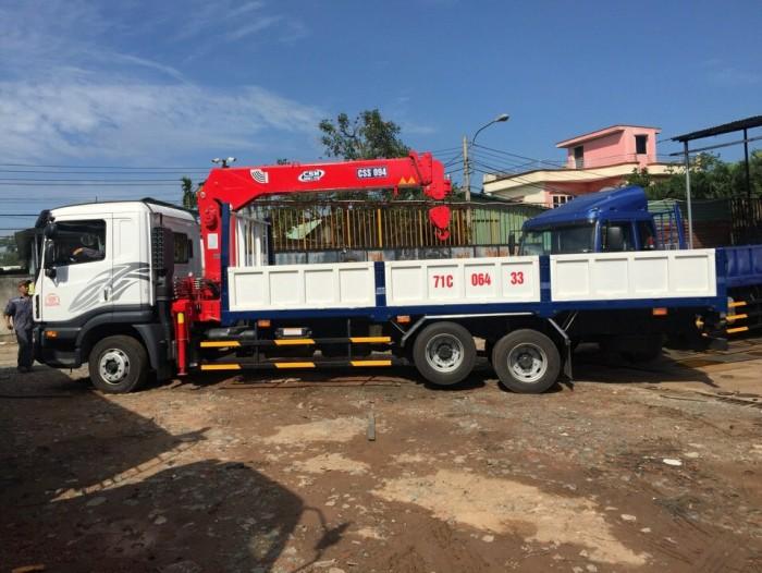 XE DAEWOO PRIMA gắn cẩu 5 tấn