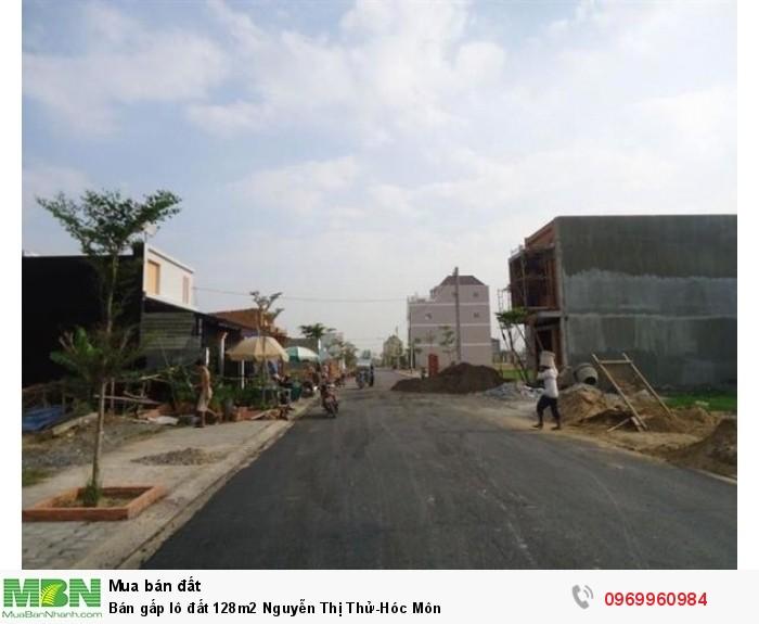 Bán gấp lô đất 128m2 Nguyễn Thị Thử - Hóc Môn