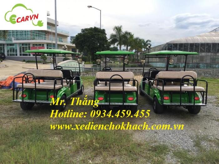 Bán xe điện chở khách club car 8 chỗ cũ