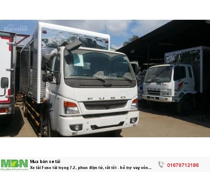 Xe tải Fuso tải trọng 7.2, phun điện tử, rất tốt - hỗ trợ vay vốn ngân hàng,giá xe Fuso tốt nhất Tây Ninh tải trọng 1.9 tấn,3.5 tấn, 7.2 tấn..