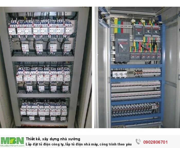 Lắp đặt tủ điện công ty, lắp tủ điện nhà máy, công trình theo yêu cầu