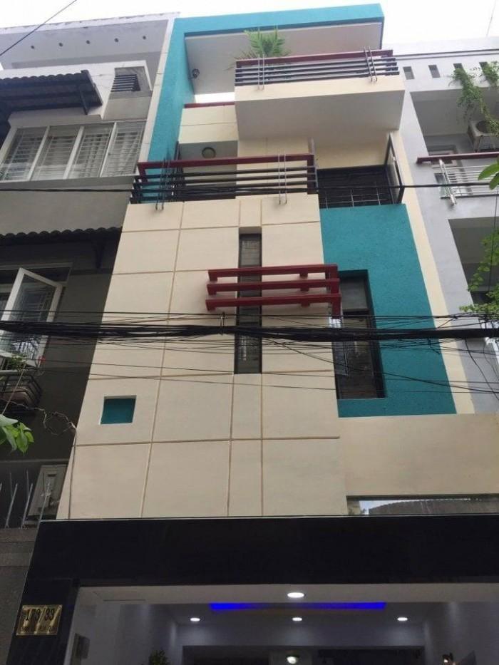 Nhà Thành Thái đường 8m, 4 tầng, 5 PN, 4.5x15m, 7.1 tỷ xe hơi vào nhà chình chủ