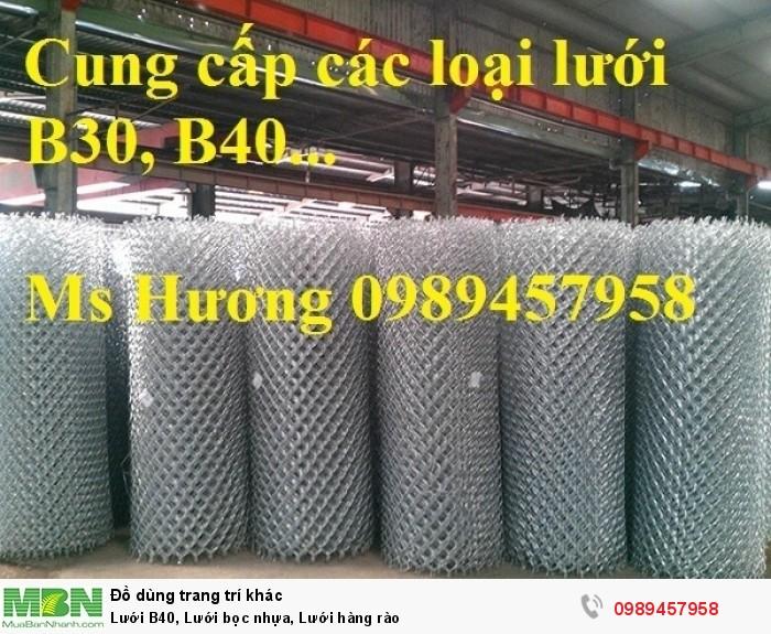 Lưới B40, Lưới bọc nhựa, Lưới hàng rào