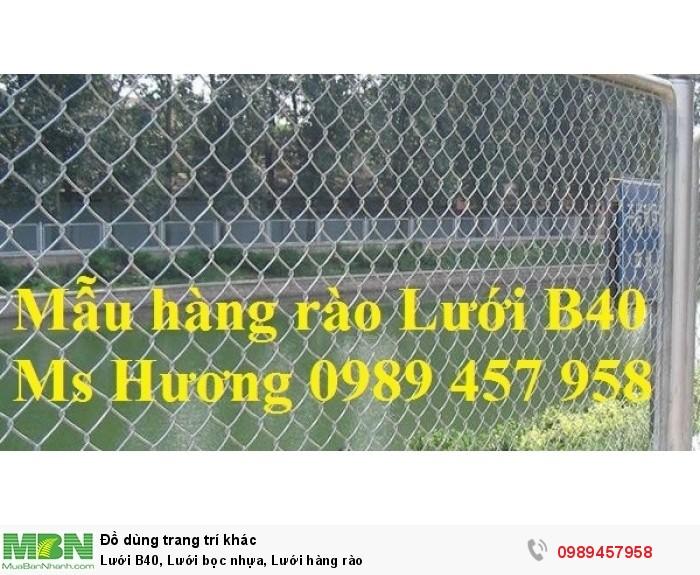 Lưới B40 bọc nhựa mầu xanh, Lưới b40 mầu ghi, Lưới làm sân tennis11