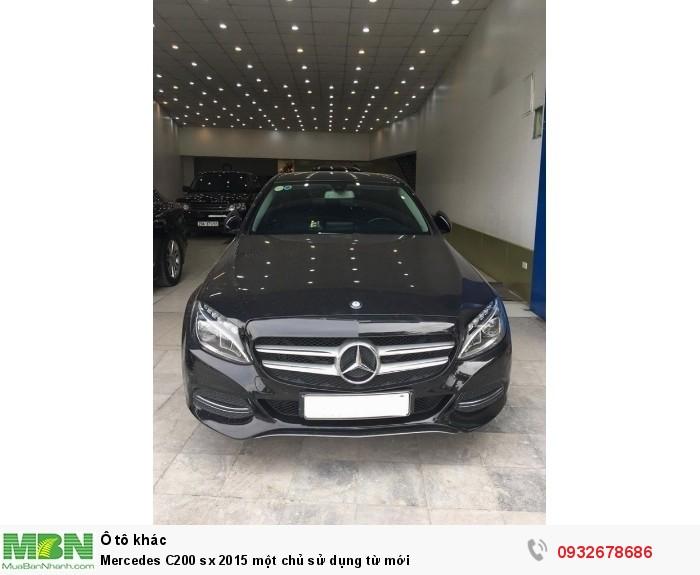 Mercedes C200 sx 2015 một chủ sử dụng từ mới 1