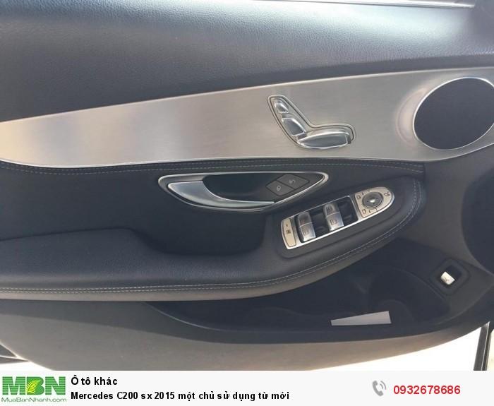 Mercedes C200 sx 2015 một chủ sử dụng từ mới 11
