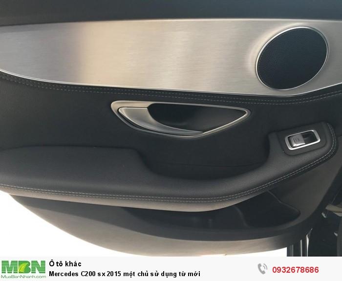 Mercedes C200 sx 2015 một chủ sử dụng từ mới 12