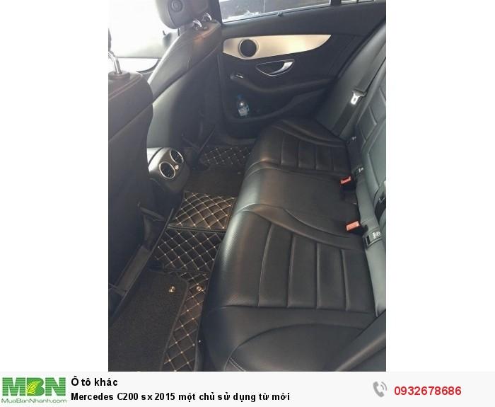 Mercedes C200 sx 2015 một chủ sử dụng từ mới 19