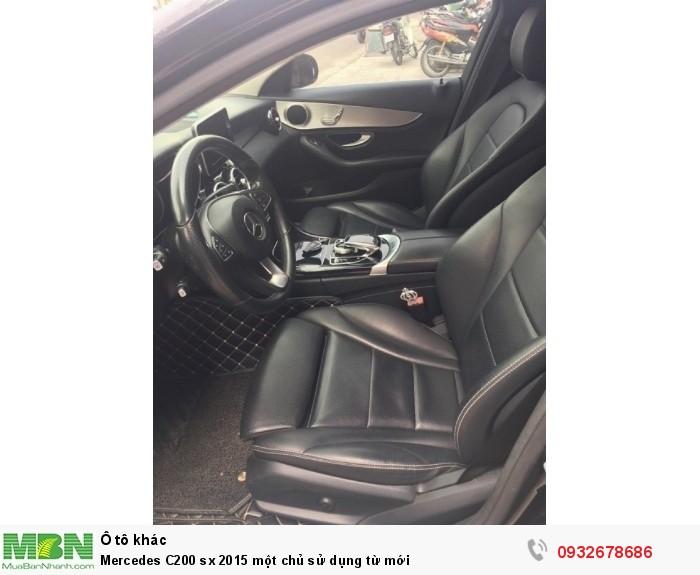 Mercedes C200 sx 2015 một chủ sử dụng từ mới 21