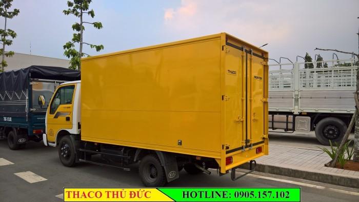Xe Tải Nhẹ KIA K165s (K3000) Thùng Kín tải trọng 2.4 Tấn. Có xe giao ngay