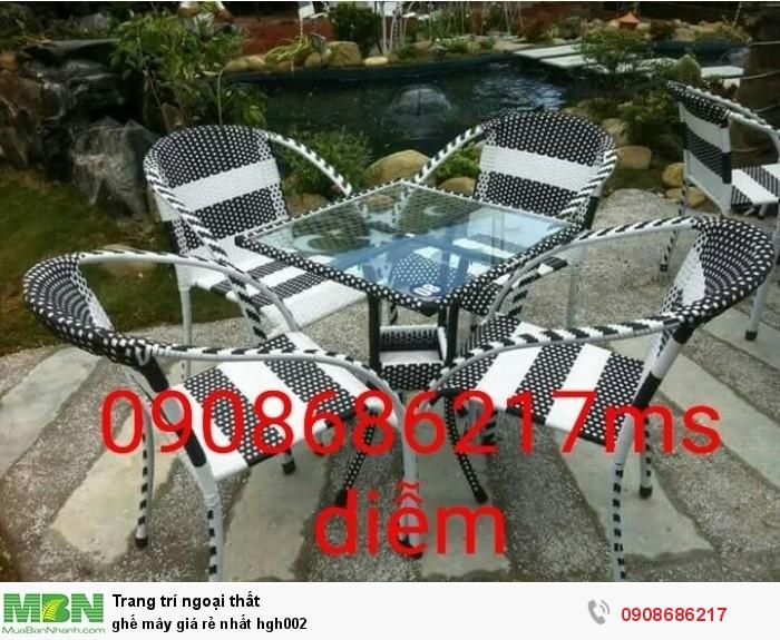 ghế mây giá rẻ nhất hgh002