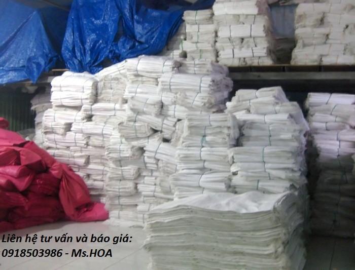 Bán bao PP dệt đựng gạo giá rẻ, bao đựng phân bón, bao đựng hoa chất, bao đựng thức ăn chăn nuôi..2