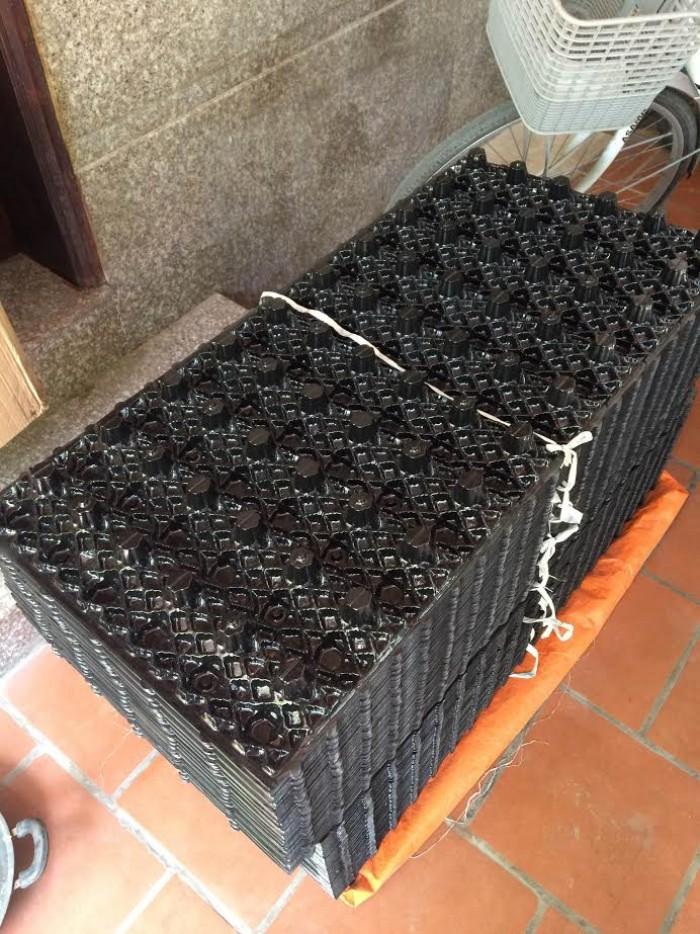 giá thể vi sinh dạng tổ ong,vật liệu đệm dạng tổ ong,đệm vi sinh ...