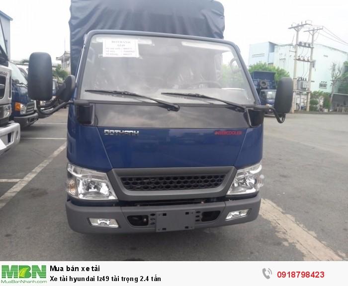 Xe tải hyundai Iz49 tải trọng 2.4 tấn