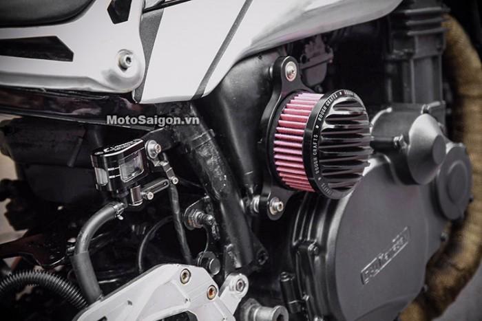 GZ Seven xế độ phong cách Scrambler từ Kawasaki GPZ 750