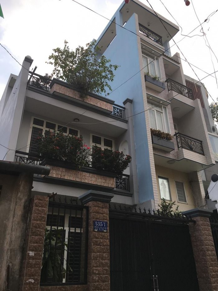 Bán nhà HXH, MT 8m, đường Thống Nhất, Phường 14, quận Gò Vấp. DT: 6.2m x 16m