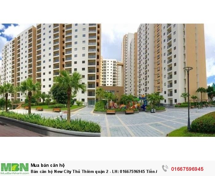 Bán căn hộ New City Thủ Thiêm quận 2 - giá rẻ bất ngờ từ CĐT - 2PN - 54m2
