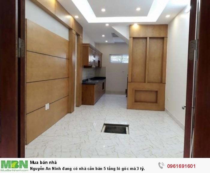Nguyễn An Ninh đang có nhà cần bán 5 tầng lô góc