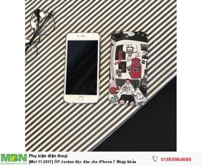 [Mới 11.2017] ỐP Jordan độc đáo cho iPhone 7 Nhập khẩu