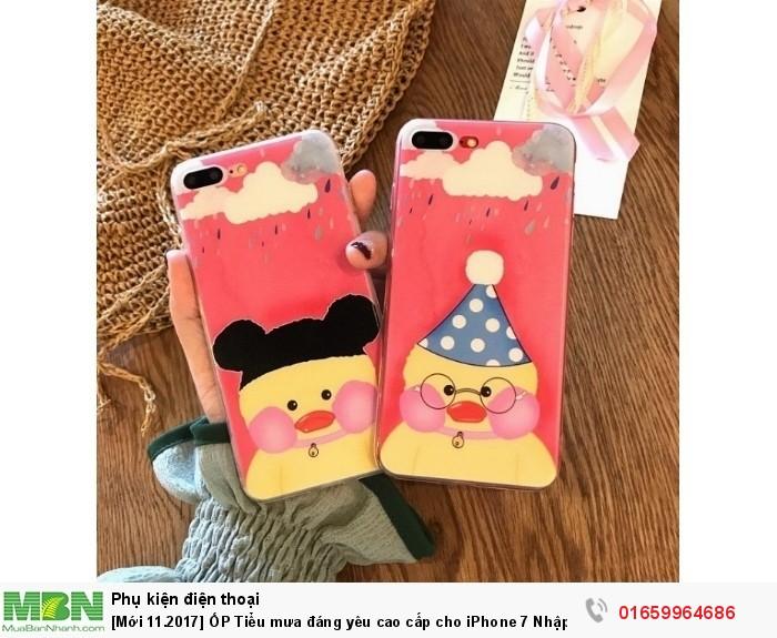 [Mới 11.2017] ỐP Tiểu mưa đáng yêu cao cấp cho iPhone 7 Nhập khẩu