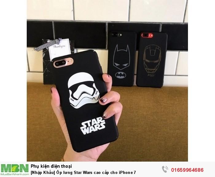 [Nhập Khẩu] Ốp lưng Star Wars cao cấp cho iPhone 7