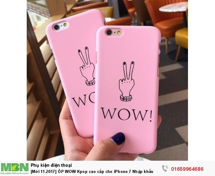 [Mới 11.2017] ỐP WOW Kpop cao cấp cho iPhone 7 Nhập khẩu