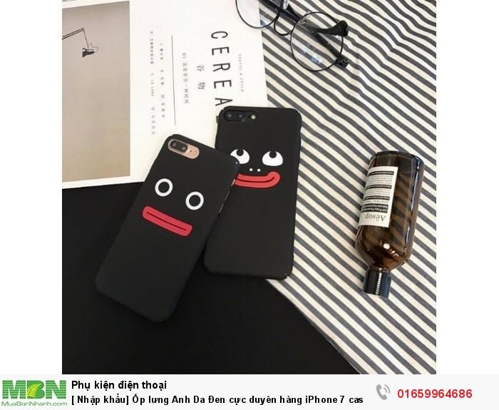 [ Nhập khẩu] Ốp lưng Anh Da Đen cực duyên hàng iPhone 7 case