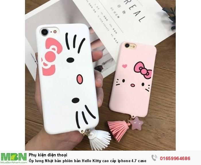 Ốp lưng Nhật bản phiên bản Hello Kitty cao cấp iphone 4.7 case