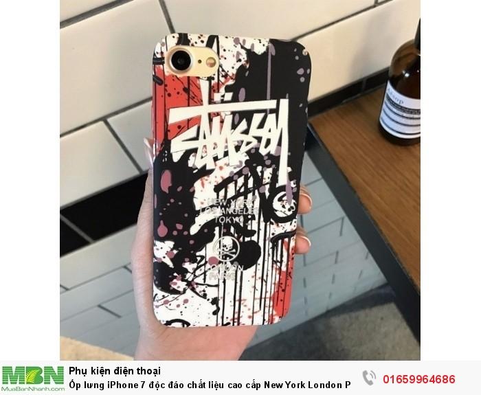 Ốp lưng iPhone 7 độc đáo chất liệu cao cấp New York London Paris