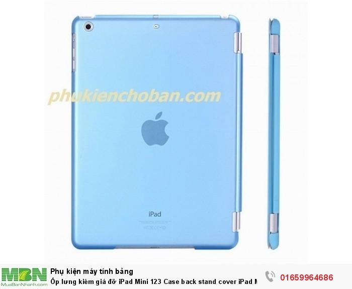 Ốp lưng kiêm giá đỡ iPad Mini 123 Case back stand cover iPad Mini 1234