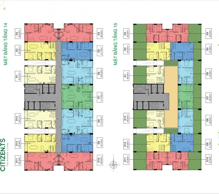 Duplex Trung Sơn mặt tiền view sông xanh mát - 163.54m2, 4 phòng ngủ