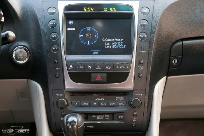 Lexus GS350 2008 full option 11
