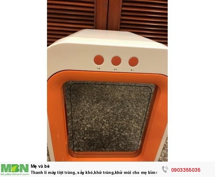 Máy tiệt trùng Upang Hàn Quốc Thanh lí máy tiệt trùng, sấy khô,khử trùng,khử mùi cho mẹ bỉm sửa1
