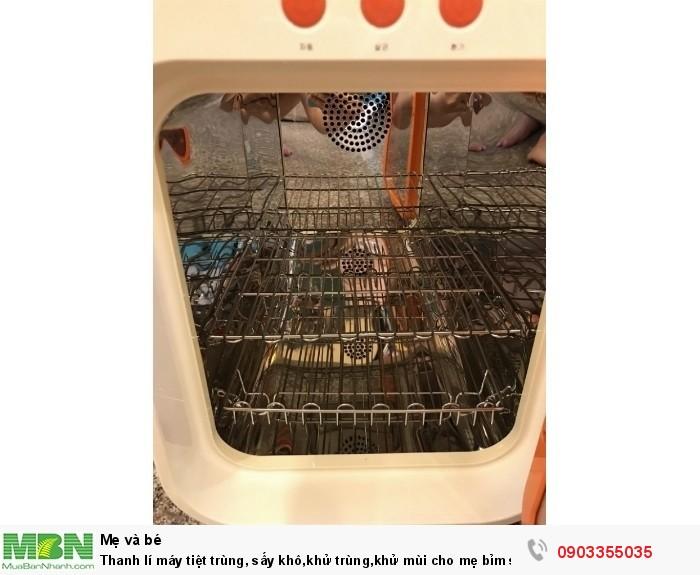 Máy tiệt trùng Upang Hàn Quốc Thanh lí máy tiệt trùng, sấy khô,khử trùng,khử mùi cho mẹ bỉm sửa2