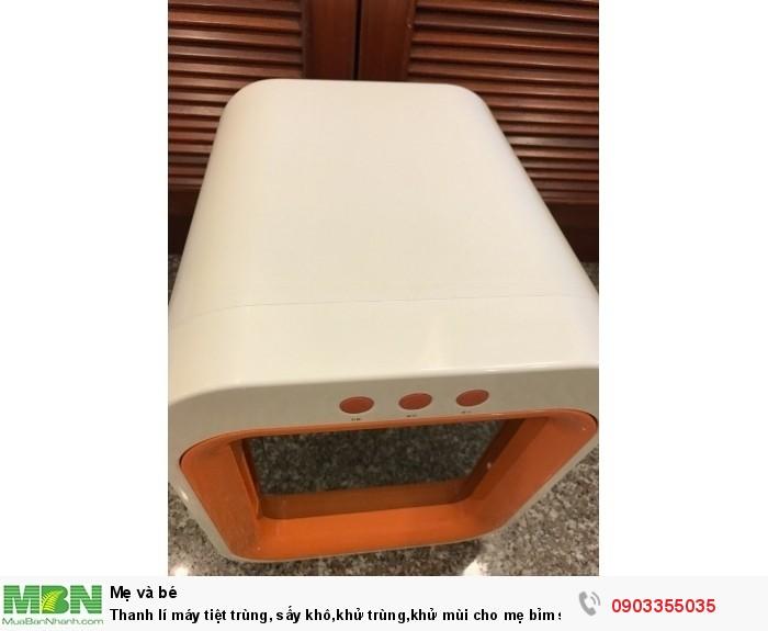 Máy tiệt trùng Upang Hàn Quốc Thanh lí máy tiệt trùng, sấy khô,khử trùng,khử mùi cho mẹ bỉm sửa3