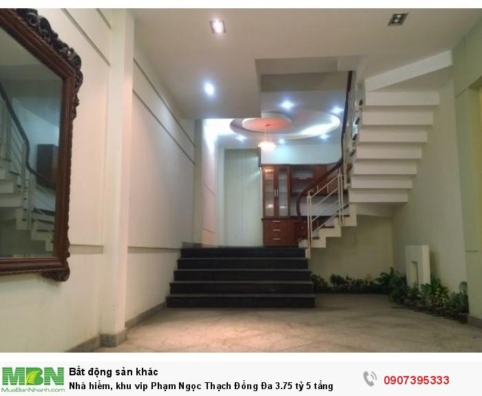 Nhà hiếm, khu vip Phạm Ngọc Thạch Đống Đa 5 tầng