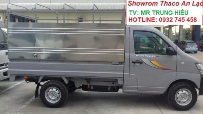 Bán xe tải Towner tải trọng 990 kg chạy trong thành phố. Tiêu chuẩn khí thải euro 4 6