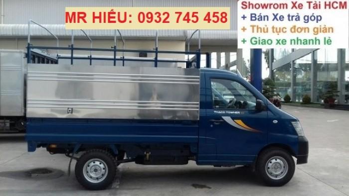 Bán xe tải Towner tải trọng 990 kg chạy trong thành phố. Tiêu chuẩn khí thải euro 4 4