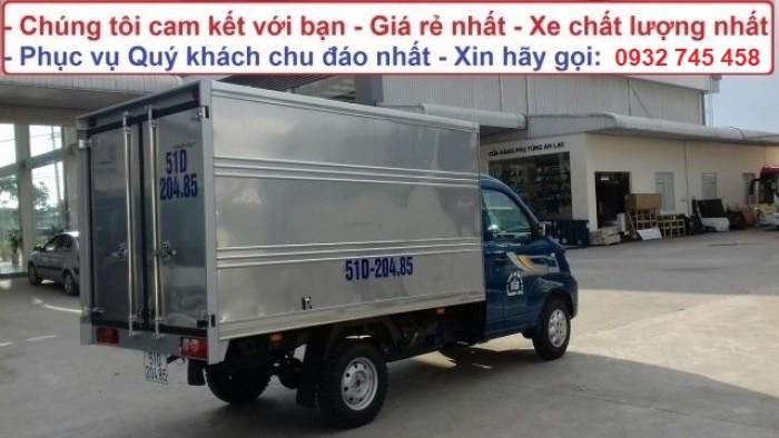 Bán xe tải Towner tải trọng 990 kg chạy trong thành phố. Tiêu chuẩn khí thải euro 4 3