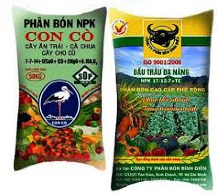 Chuyên bán các loại bao PP đựng phân bón, đựng thức ăn chăn nuôi heo, thức ăn thủy hải sản...2