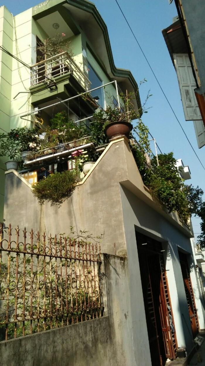 Bán nhà 3,5 tầng 10A/59 Khúc Thừa Dụ 2, Vĩnh Niệm, DT: 60m2