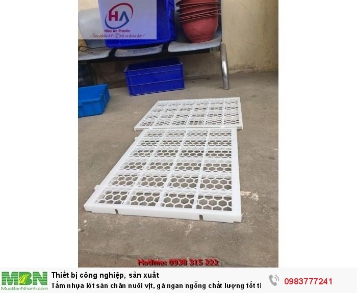 Sàn Vịt Thông Minh - Tấm nhựa lót sàn chuồng vịt (gà) ngan ngỗng0